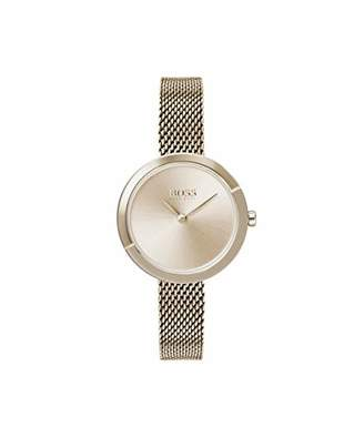 HUGO BOSS Women's Analogue Quartz Watch with Stainless Steel Strap 1502498