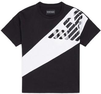 Emporio Armani Kids Eagle T-Shirt