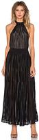 NBD Regal Maxi Dress in Black. - size M (also in )