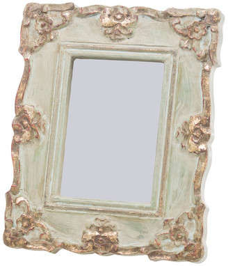 Abigails Vendome Blue and Gold Rectangle Frame