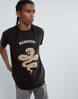Maharishi Emroidered Snake T-shirt