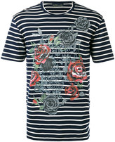 Etro striped T-shirt - men - Cotton - S