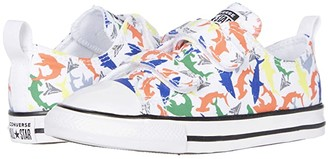 Converse Chuck Taylor(r) All Star(r) 2V (Infant/Toddler) (White/Multi/Black) Boy's Shoes