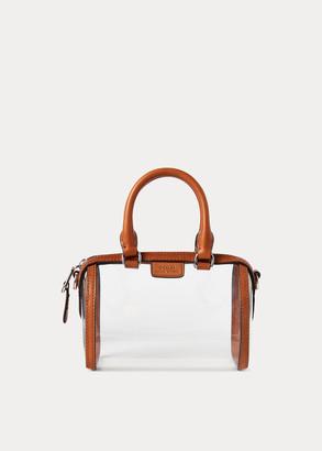 Ralph Lauren Clear Mini Camden Duffel Bag