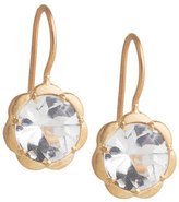 Jamie Wolf Petite Scalloped White Topaz Earrings