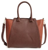 Sole Society 'Jeanine' Satchel - Brown