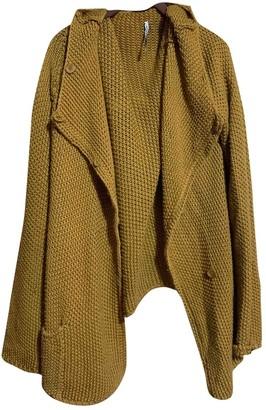 Liviana Conti Beige Wool Jacket for Women