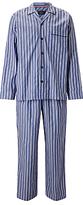 John Lewis Rohini Satin Stripe Pyjamas, Blue