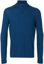 Loro Piana zipped collar jumper