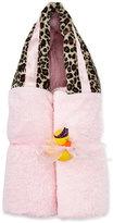 Swankie Blankie Cheetah Hooded Towel