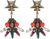 Anton Heunis Star Drop Earrings Palm Tree