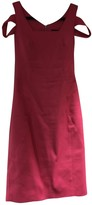 Karen Millen Pink Cotton - elasthane Dress for Women