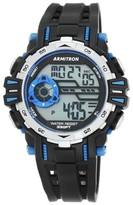 Armitron® Sport Men's Chronograph Strap Watch - Black
