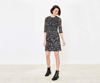 Oasis Smudgy Floral Dress