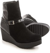 Eric Michael Evelyn Wedge Ankle Boots - Leather (For Women)