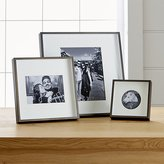 Crate & Barrel Brushed Antique Bronze Picture Frames
