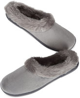 Charter Club Microvelour Clog Memory Foam Slippers, Only at Macy's