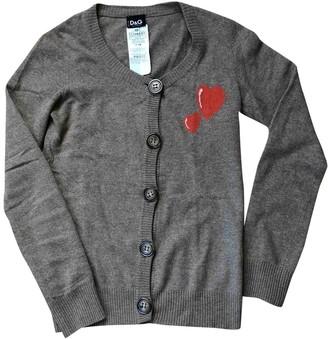 Dolce & Gabbana Beige Wool Knitwear for Women