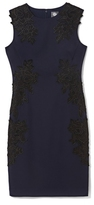 Vince Camuto Embroidered Sheath