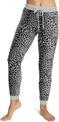 Chaser Cozy Leopard Jogger Pants