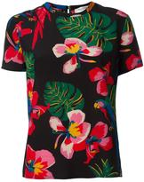 Valentino tropical print T-shirt