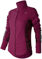 New Balance Women's Windblocker Fleece-Lined Running Jacket