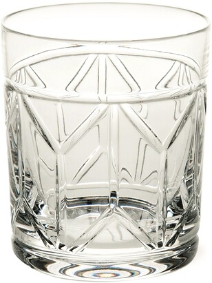 Vista Alegre Avenue Lead Crystal Old Fashioned Glass