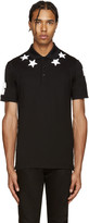 Givenchy Black Stars & Numbers Polo