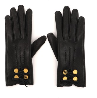 Hermes Tie Knot Gloves Leather