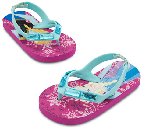 Disney Anna and Elsa Flip Flops for Girls - Frozen