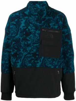 The North Face embroidered logo jumper
