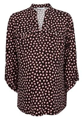 Dorothy Perkins Womens **Maternity Black Heart Print Shirt, Black