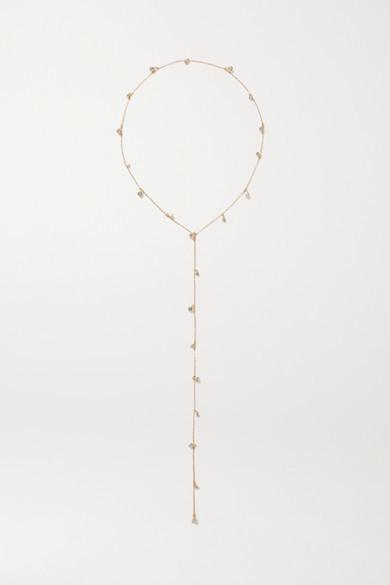 LELET NY Nina Gold-tone Crystal Headband - one size