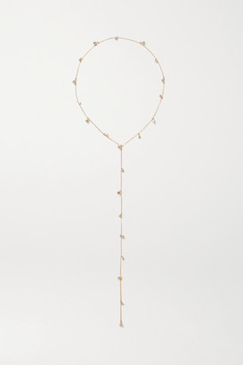 LELET NY Nina Gold-tone Crystal Headband - one size