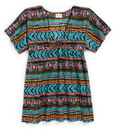 Milly Minis Print Cover-Up (Big Girls)