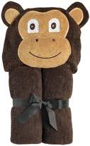 Yikes Twins Child Hooded Towel - Brown Monkey by Yikes Twins