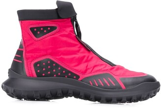 Camper Zip-Up Boots