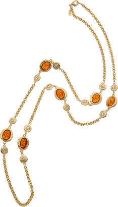 Kenneth Jay Lane Plated 48In Necklace
