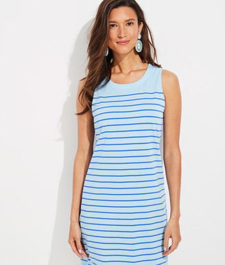 Vineyard Vines Over-Dyed Striped Nantucket Shift Dress
