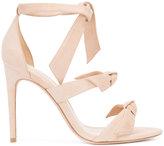 Alexandre Birman ankle tie sandals - women - Leather/Suede - 39
