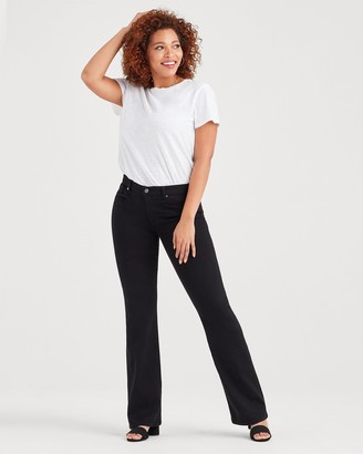 7 For All Mankind b(air) Bootcut in Black