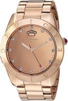 Juicy Couture Women's 'Connect' Quartz Tone and Gold Casual Watch(Model: 1901501)