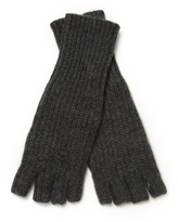 White + Warren Cashmere Fingerless Long Shaker Glove