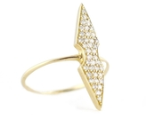 ONE JEWELRY Lina Diamond Double Point Ring
