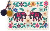 Figue Elephant Garden clutch