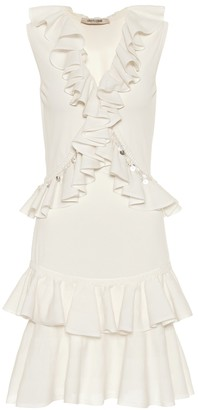 Roberto Cavalli Cotton-blend minidress