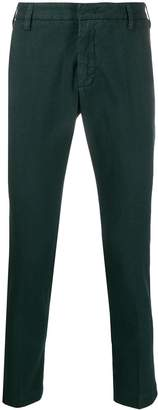 Entre Amis slim fit stretch trousers