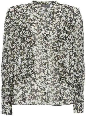 Mint Velvet Bonnie Print Ruffled Blouse