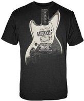 FEA Men's Nirvana Guitar Image Discharge Men's Lightweight T-Shirt
