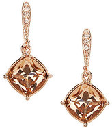 Givenchy Cushion-Cut Drop Earrings